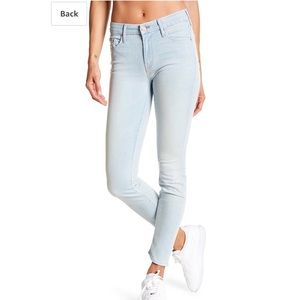 Mother Jeans The Looker 29 Skinny in Swimming